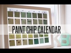 She Places Paint Chips on Glass – When You See What She Creates – You'll Want to Try