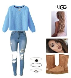 """No. 121"" by jaed625 ❤ liked on Polyvore featuring UGG Australia, Accessorize, Cole Haan, ugg and contestentry"