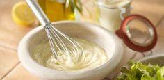 Como fazer uma maionese fresca e que não leva ovos?