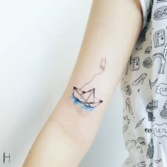 A small tattoo can make a big statement.