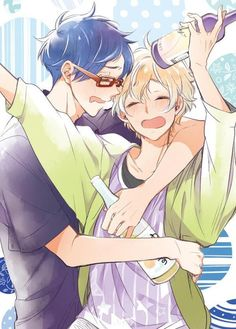 mori_peko Rei and Nagisa Oh there drunk gou is gonna have fun with this.