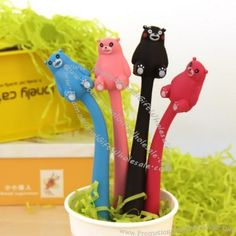 Baby Bear Bendable Pen Made in China #5073783447