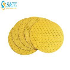 Multihole anti clogging round sanding disc for metal