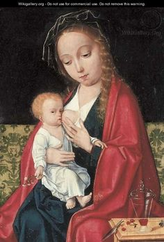 The Virgin and Child - (after) Cleve, Joos van