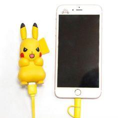 Pikachu Portable USB Phone Charger