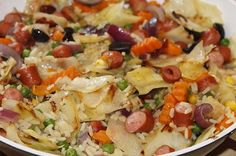 Cabbage Jambalaya Recipe