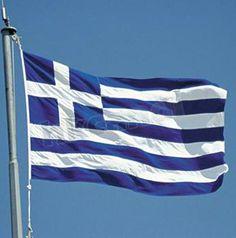 Soccer Nation Flag GREECE (3ft x 5ft, 150x90cm)