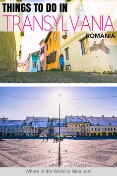 If you're wondering what to do in Transylvania and Dracula is all that comes to mind, you need this post! There's so much more to see in Transylvania beyond Dracula! Here are the best things to do in Transylvania, Romania! #Romania #Transylvania
