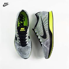 added the Nike Flyknit Racer 'Volt Oreo' to my collection