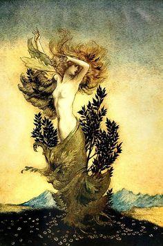 Free Image on Pixabay - Vintage, Arthur Rackham, Victorian