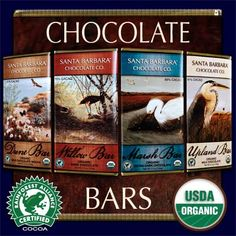 Organic Chocolate 4Bars