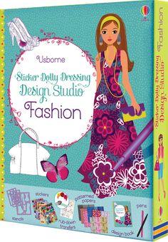 #StickerDollyDressing #design #studio #fashion #clothes #creative #art #childrensbooks #textiles #usborne