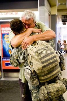 a soldier returns home!!!