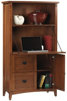 Artisan Secretary Desk - Secretary Desks - Home Office Furniture - Furniture | HomeDecorators.com