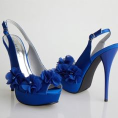Sapphire blue must haves...