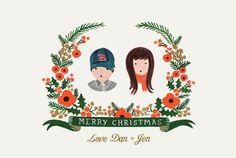 christmas card adorable