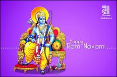 May Lord Ram bless you with peace and virtue on Ram Navami and always!