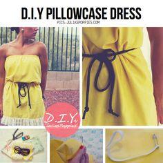 DIY Pillowcase Dress