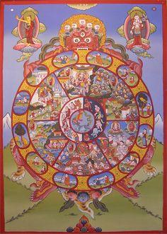 wheel of life buddhism - Google Search