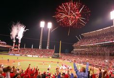 Great American Ballpark (many games, 2002-2012)