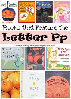 Letter P Book List - Books that Feature the Letter P - This Reading Mama