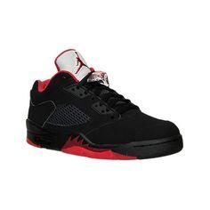 Nike Men's Air Jordan Retro 5 Low Basketball Shoes ($175) ❤ liked on  Polyvore