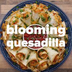 Blooming Quesadilla