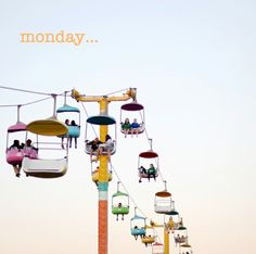 Mondays…  just in case it's been a little dull…