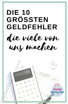Die 10 grössten Geldfehler die viele von uns machen The 10 biggest mistakes many of us make. Check how it looks like with you? Do you all know, are you still doing some or are you already on the way to your financial freedom? Earn Money From Home, Make Money Blogging, Money Tips, Saving Money, How To Make Money, Cash Money, Budgeting Finances, Budgeting Tips, Making A Budget