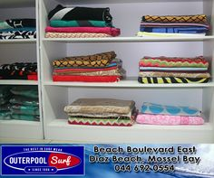 We have some beach towels in store. Come and have a look.