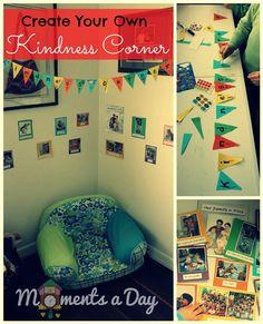 Kids for Kindness | #RandomActofKindness Challenge 25: Create your own #Kindness Corner