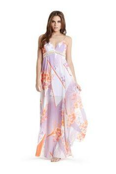 Haru Maxi Dress | GUESS.com