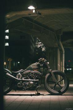 Bobber Inspiration - Bobbers and Custom Motorcycles Motorcycle Types, Bobber Motorcycle, Bmw Motorcycles, Custom Motorcycles, Custom Bikes, Ironhead Sportster, Harley Davidson Sportster, Moto Fest, Biker Photography