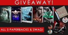 Super Giveaway for 5 books & SWAG by Clarissa Wild!  ➜ http://clarissawild.blogspot.nl/2017/01/new-years-giveaway-update-win-signed.html