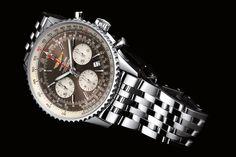 """Für Weltreisende: Edel-Chronometer """"Navitimer"""" von Breitling"""