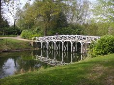 Chinese Bridge, Painshill, Surrey - not strictly Chinese in design, but described as such as early as 1763