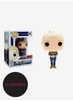 Hot Topic : Funko Riverdale Pop! Television Betty Cooper Vinyl Figure Hot Topic Exclusive