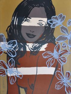 "David Bromley (b.1960-) ""Jillian"""