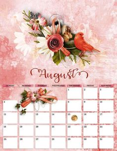 Cute August 2019 Calendar Wallpaper For Desk August Calendar, Cute Calendar, Desktop Calendar, Calendar Wallpaper, Desk Calendars, August Wallpaper, Calendar 2019 Template, Month Of July, Wall Design