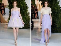 wow - I really love these two.  Delpozo Spring 2014