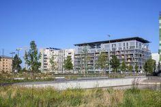 """""""Amplia"""", Immeuble de logements à Energie Positive à Lyon Confluence (pour Lipsky+Rollet architectes)"""