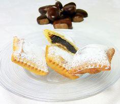 Le ricette di Alfredo. Ravioli dolci al Passito di Pantelleria con castagne di Montella alla vaniglia Borboun e cioccolato fondente di Modica