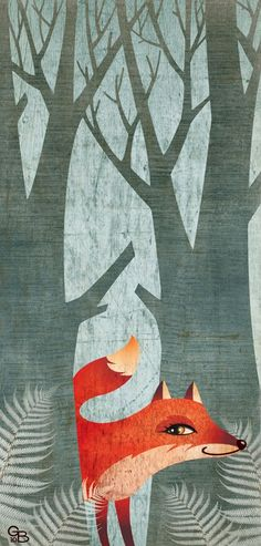 Gaia Bordicchia —  Little red fox  (425x888)