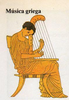 Es de los antiguos griegos de quien tomamos la palabra «música». La llamaban mousike, después de las nueve musas, diosas de la inspiración. Tomaron sus ideas musicales de Mesopotamia y Egipto