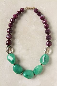 "anthropologie - $42.  I think I already have the stones to create an ""Inspired by"" version (no, I do not copy exactly)"