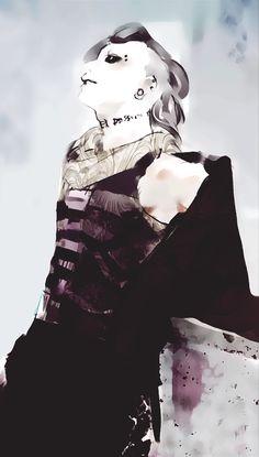 "sagararei: "" Uta mobile wallpapers 540 x 950 "" Requested by hystericalbutt-sneezing Free for personal use. Kaneki, Anime Manga, Anime Art, Tokyo Ghoul Uta, Art Station, Weird Creatures, Good Manga, Anime Shows, Black Butler"