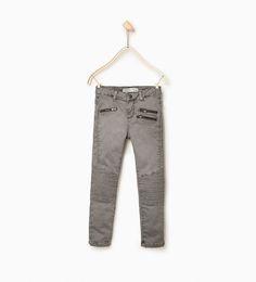 Zipped trousers-View all-LEGGINGS AND TROUSERS-Girl-Kids | 4-14 years-KIDS | ZARA United States