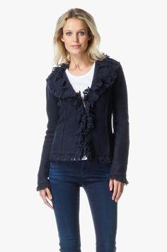 Armani Jeans - Armani Wollen Jasje - Donker blauw
