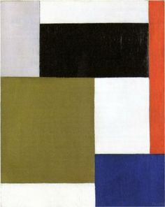 Theo van Doesburg, Composition, 1923, oil