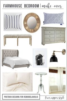 Home Interior Layout 12 Items for a Perfect Fixer Upper Style Farmhouse Bedroom Farmhouse Bedroom Decor, Home Decor Bedroom, Quirky Bedroom, Diy Bedroom, 1980s Bedroom, Bedroom Ideas, Farm Bedroom, Gold Bedroom, Decor Room